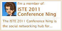 Visit me on the ISTE Ning